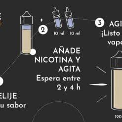 Como añadir nicokit en eliquido de 100mL