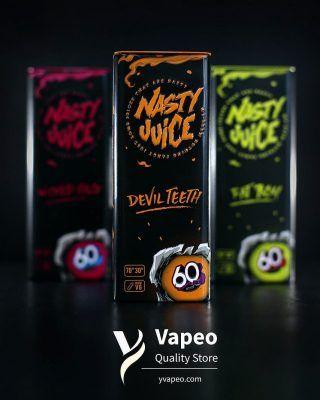 Nasty Juice liquidos para vapear con logo