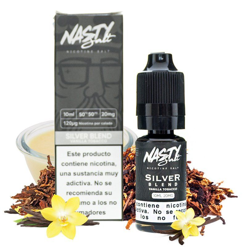 Nasty Juice Salt Silver Blend